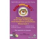 Dossier Ortho cat's Les Règles d'orthographe et les homophones grammaticaux Niveau cycle 3