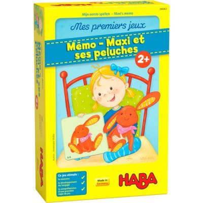 Mémo - Maxi et ses peluches
