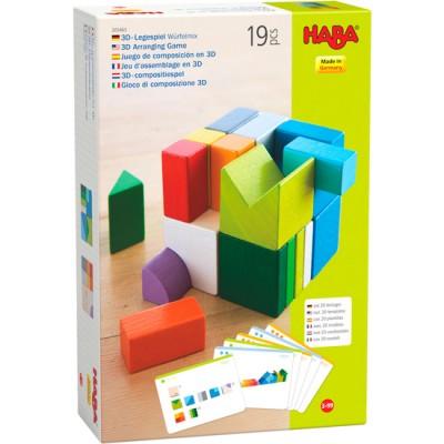 Jeu d'assemblage en 3 D Cubes Mix
